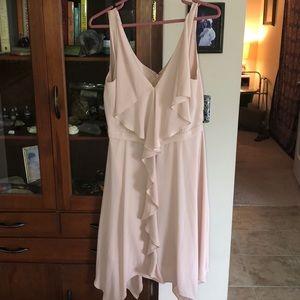 Bcbg dress, gorgeous nude color.